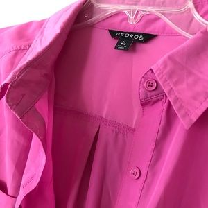 Cute Pink Professional Button Up
